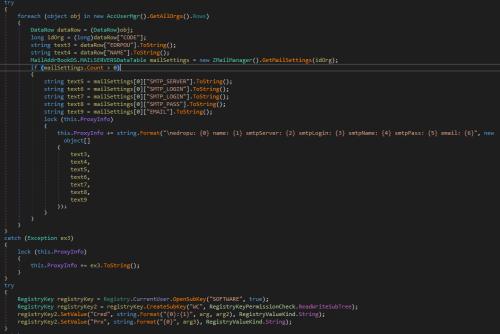 screenshot BackDoor.Medoc #drweb