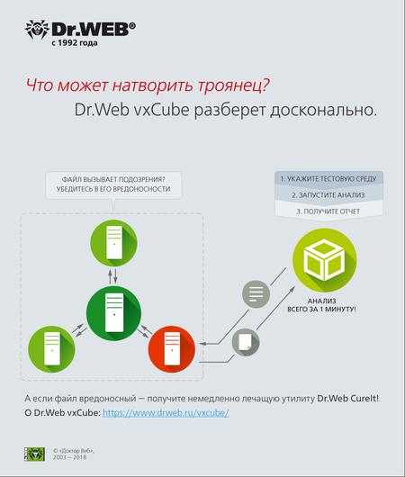 Отчеты Dr.Web vxCube #drweb
